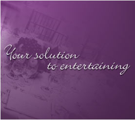 Your solution to entertaining